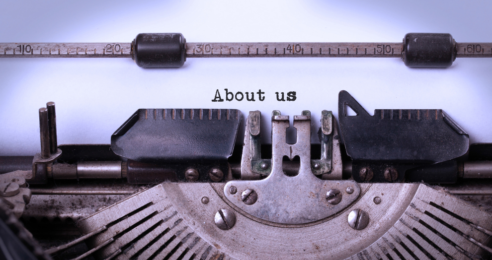 about us and legal pages